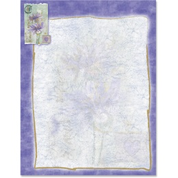 Lavender Spring Border Papers