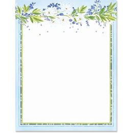 Daisies Border Papers