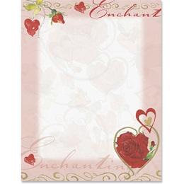 Enchanting Rose Border Papers