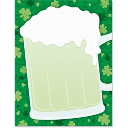 Green Beer Border Papers