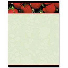 Romantic Roses Border Papers