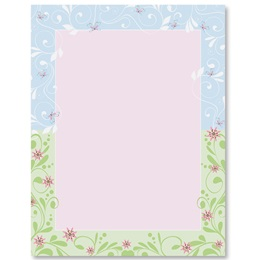 Spring Fancy Border Papers