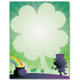 Lucky Leprechaun Border Papers