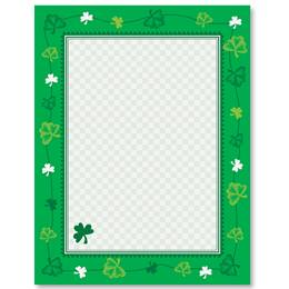 Sweet Shamrock Border Papers