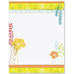 Sweet Summer Border Papers