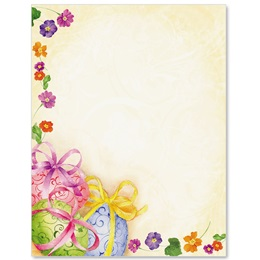 Easter Egg Soiree Border Papers