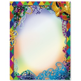 Mardi Gras Border Papers