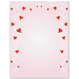 Tender Hearts Border Papers
