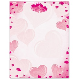 Pink Crush Border Papers