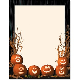 Pumpkin Parade Border Papers