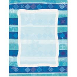 Hanukkah Border Papers