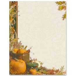 Harvest Flourish Border Papers
