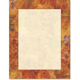 Tuscan Harvest Border Papers