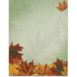 Fall Breeze Border Papers