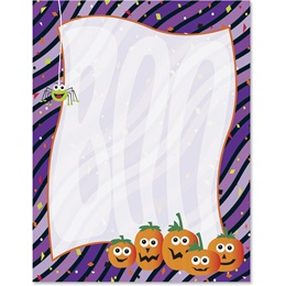 Boo-riffic Border Papers