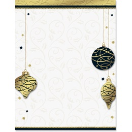 Holiday Soiree Border Papers