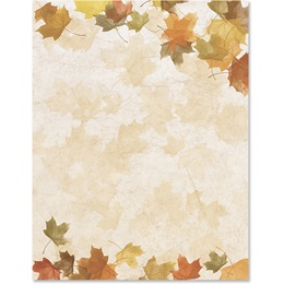 Harvest Light Border Papers