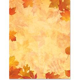 Fall Impressions Border Papers