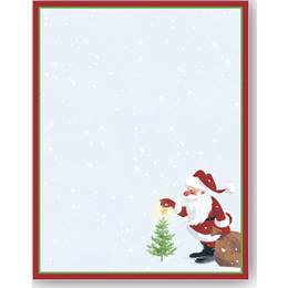 Santa's Wish Border Papers