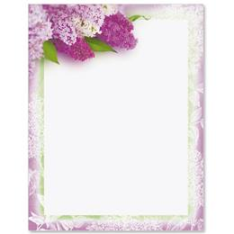Sweet Lilacs Border Papers