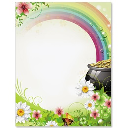 Pot O Gold Border Papers
