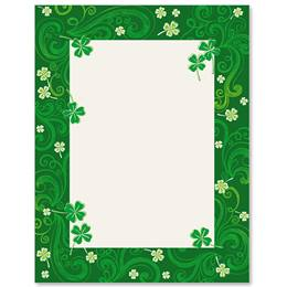 St Pats Parade Border Papers