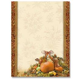 Autumn Adornment Border Papers