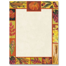 Autumn's Beauty Border Papers