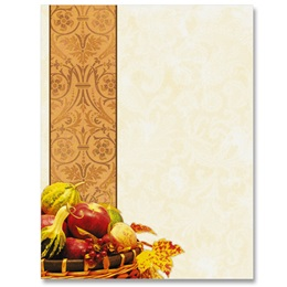 Harvest Tapestry Border Papers