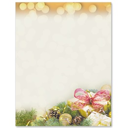 Glittering Gifts Border Papers