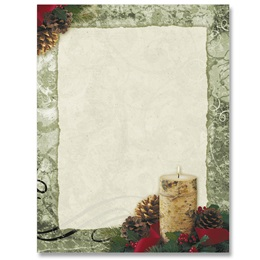 Rustic Christmas Border Papers