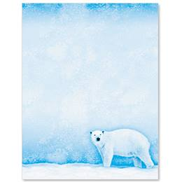 Furry Flurries Border Papers