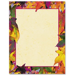 Fall Grandeur Border Papers