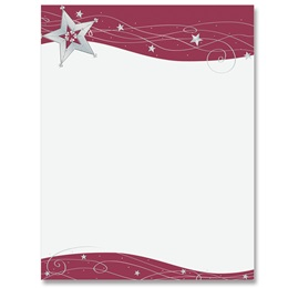 Star Shine Border Papers