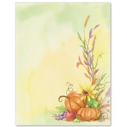 Fall Fruits Border Papers