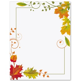 Fall Freshness Border Papers