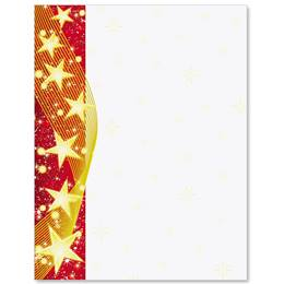 Star Glow Border Papers