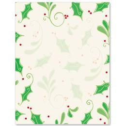 Sweet Holly Border Papers