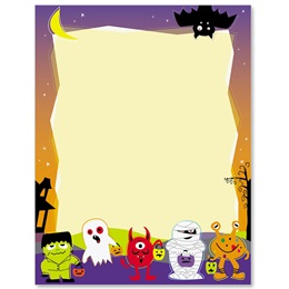 Lil Monsters Border Papers