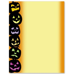 Halloween Masquerade Border Papers