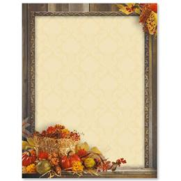 Autumn Treasures Border Papers