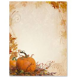 Splendid Autumn Border Papers