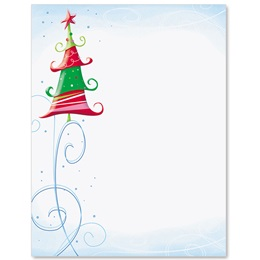 Glee Tree Border Papers
