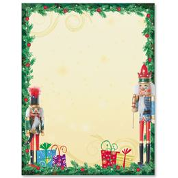 Nutcracker Soiree Border Papers