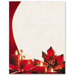 Christmas Evening Border Papers