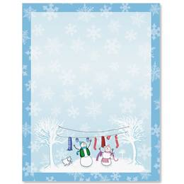 Frosty Delight Border Papers