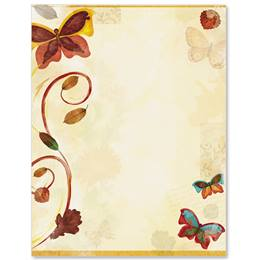Welcome Fall Border Papers