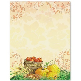 Fall Motif Border Papers
