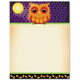 Haunted Hoot Border Papers