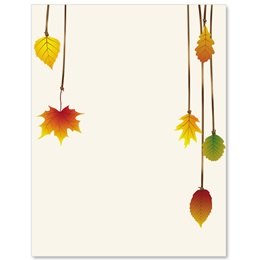 Free Fall Border Papers